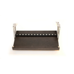 The Drop Block Black Ebony Steak and Paring Knife Magnetic Storage Unit