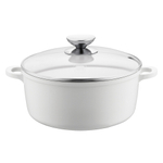 Berndes Vario Click Pearl Induction 6.75 Inch Dutch Oven with Glass Lid