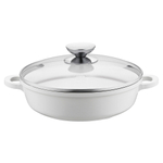 Berndes Vario Click Pearl Induction 10 Inch Sauté Casserole with Glass Lid