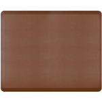 WellnessMats Brown Standard Anti-Fatigue Mat, 5 x 4 Foot