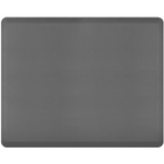 WellnessMats Gray Standard Anti-Fatigue Mat, 5 x 4 Foot