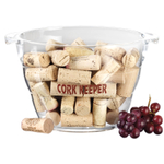 Prodyne Acrylic 80 Cork Keeper Wine Bucket
