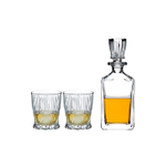 Riedel Crystalline Fire Whisky Set with Decanter and 2 Tumblers