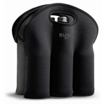 Built NY Black Neoprene Six-Pack Tote