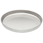 Fante's Cousin Serafina's Stainless Steel Micro Texture 13-Inch Pizza Pan