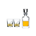 Riedel Crystalline Louis Whisky Set with Decanter and 2 Tumblers