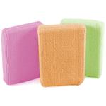 Casabella Assorted Microfiber Sponge, Set of 3