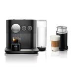 Nespresso by Breville Black Expert & Milk Espresso Maker with Aeroccino3 Milk Frother Bundle