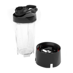 Blendtec Go 30 Ounce 2 Piece Personal Travel Bottle Accessory Set with Cutting Board