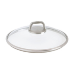 Woll Diamond Lite Pro 9.5 Inch Round Glass Lid with Vented Knob
