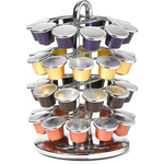 Nifty Home Products Nespresso Chrome 40 Capsule Carousel