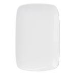 Harold Import Co. White Porcelain 6.25 x 9.75 Inch Rectangular Platter