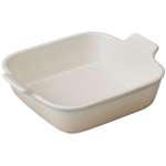 Le Creuset Heritage Meringue Stoneware 9 Inch Square Baking Dish