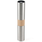 Linden Sweden Stainless Steel and Beechwood Double Spice Grinder