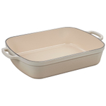 Le Creuset Signature Meringue Enameled Cast Iron 5.25 Quart Rectangular Roaster
