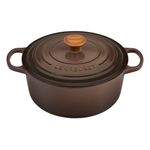 Le Creuset Signature Truffle Enameled Cast Iron 5.5 Quart Round French Oven