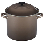 Le Creuset Truffle Enamel on Steel 10 Quart Stockpot