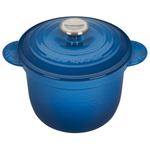 Le Creuset Marseille Cast Iron 2.25 Quart Rice Pot with Stainless Steel Knob & Insert