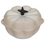 Le Creuset Meringue Stoneware Petite Pumpkin Cocotte