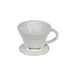 Le Creuset White Stoneware Pour Over Coffee Cone