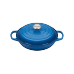 Le Creuset Signature Marseille Covered Brasier with Stainless Steel Knob