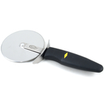 Stainless Steel Pizza Cutter with Rubber Handle