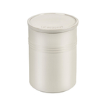 Le Creuset Metallic Meringue Enameled Stoneware 2.5 Quart Canister with Lid