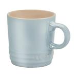 Le Creuset Metallic Coastal Blue Stoneware 3.5 Ounce Espresso Mug