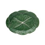 Bordallo Pinheiro Green Earthenware Cabbage Oval Serving Platter
