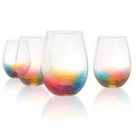 Artland 19 Ounce Neon Stemless Wine Glass