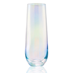 Artland Luster Clear 10 Ounce Stemless Flute