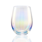 Artland Luster Clear 16 Ounce Stemless Wine Glass