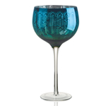 Artland 22 Ounce Peacock Gin Glass/Ball Wine