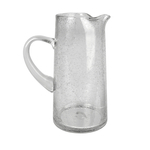 Artland Iris Glass 70 Ounce Artisan Pitcher