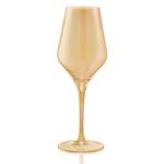 Artland Luster Gold Glass 16 Ounce Goblet