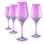 Artland Luster Purple Glass 16 Ounce Goblet