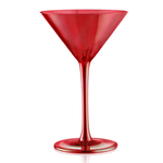 Artland Luster Ruby 8 Ounce Martini Glass