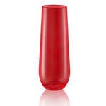 Artland Luster Ruby 10 Ounce Stemless Flute