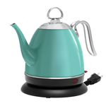 Chantal Mia Ekettle Aqua Stainless Steel 32 Ounce Electric Water Kettle