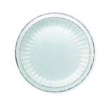 Mediterraneo Cream Ceramic 10.5-Inch Dinner Plate Set of 4