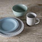 Mediterraneo Multi Color Ceramic 16 Piece Dinnerware Set