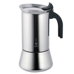 Bialetti Venus Stainless Steel Stove-top Espresso Maker, 6 Cup