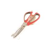 Mastrad Mutli-Function Kitchen Scissors with Holder, Red
