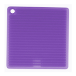 Mastrad Square Silicone Pot Holder, Purple