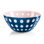 Guzzini Le Murrine Mediterranean Blue and Pink 9.8 Inch Bowl