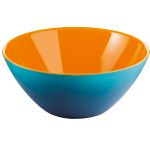 Guzzini My Fusion Blue and Orange 1.2 Quart Bowl