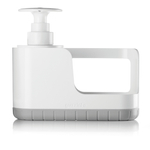Guzzini Kitchen Active Design Grey Plastic Sink Tidy with Soap Dispenser