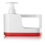 Guzzini Kitchen Active Design Red Sink Tidy with Soap Dispenser