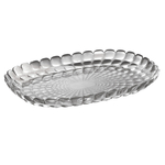 Guzzini Tiffany Grey Acrylic Large Tray