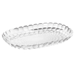 Guzzini Tiffany M Transparent 12.6 x 8.9 Inch Tray